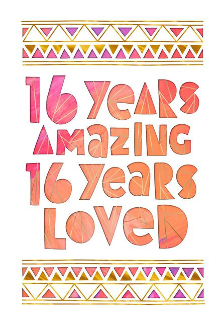 16 years amazing 16th birthday card greeting cards hallmark 16 years amazing 16th birthday card m4hsunfo
