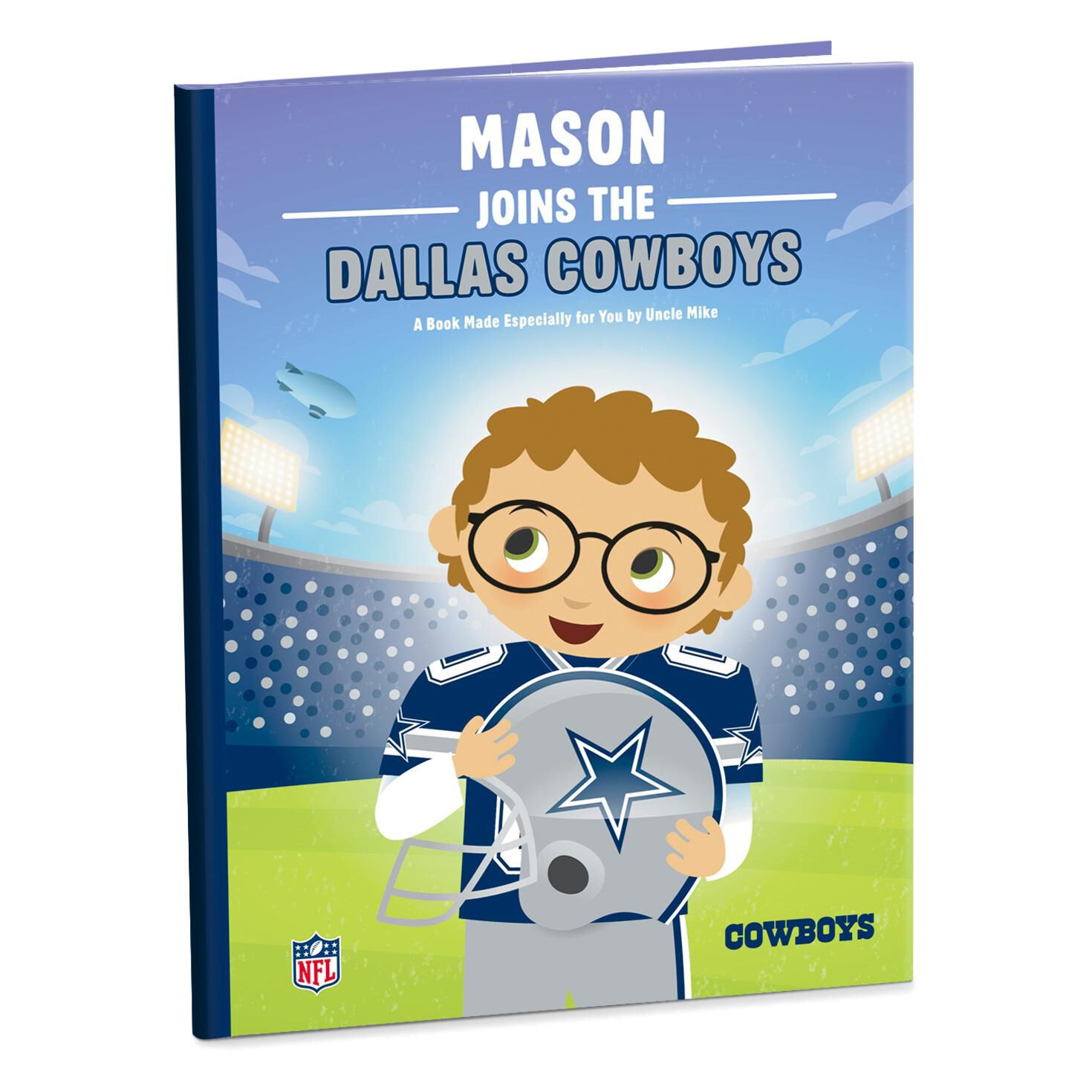 Dallas cowboys nfl football personalized book personalized books dallas cowboys nfl football personalized book personalized books hallmark kristyandbryce Choice Image