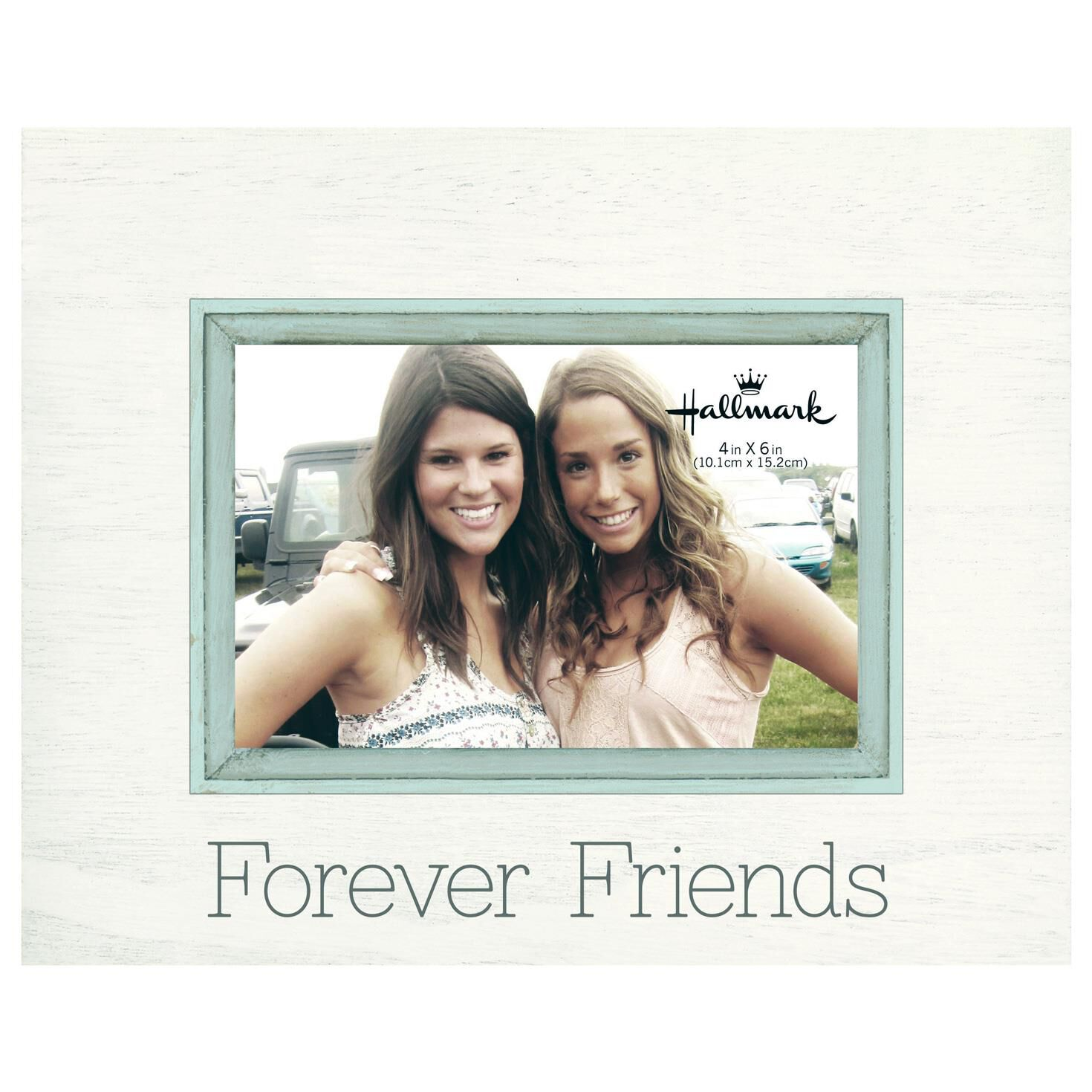 Forever Friends Sunwashed Wood Photo Frame, 4x6 - Picture Frames ...