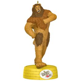 THE WIZARD OF OZ™ COWARDLY LION™ If I Only Had the Nerve Musical Ornament, , large