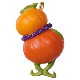 Pint-Sized Pumpkin Mini Halloween Ornament,