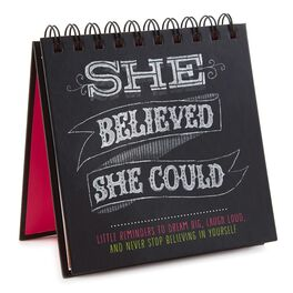 She Believed She Could: Little Reminders to Dream Big, Laugh Loud, and Never Stop Believing in Yourself Gift Book, , large