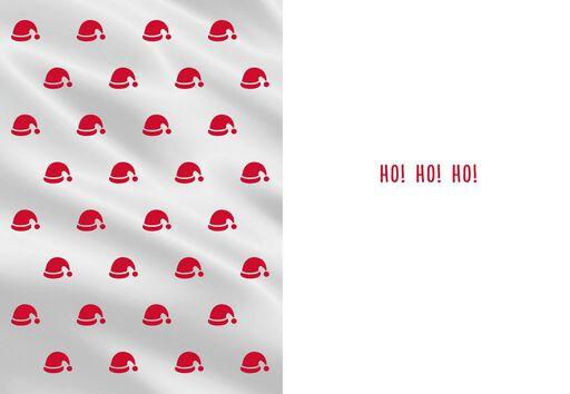 Santa's 'Stache and Beard Christmas Card,