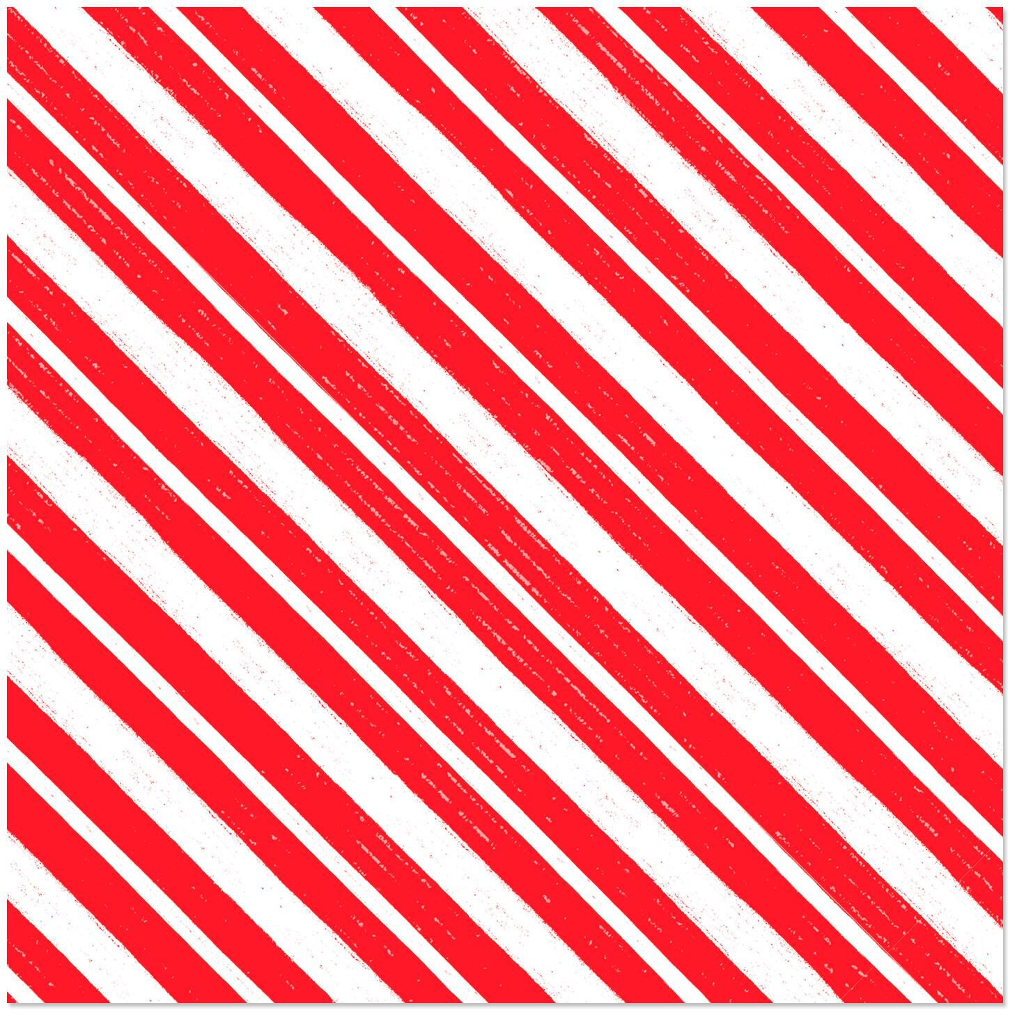 candy cane stripe christmas wrapping paper roll 45 sq ft