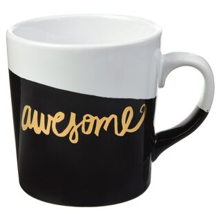 """Awesome"" Dipped Mug,"