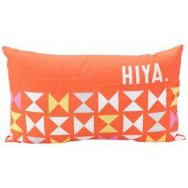 Hiya Rectangle Pillow, Medium, , large