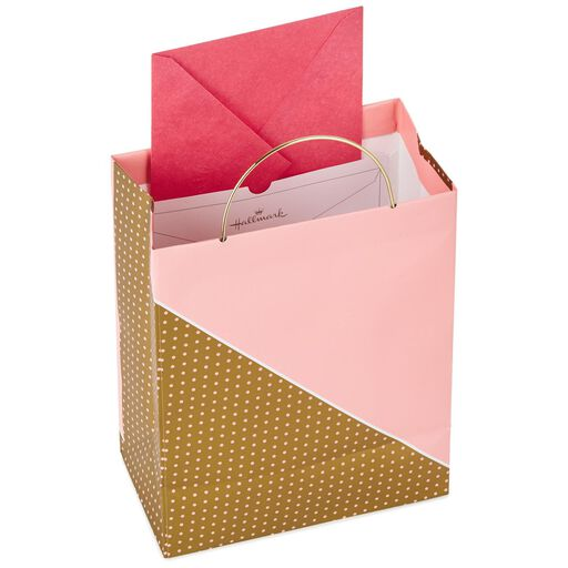 8f99115416f ... Pink and Gold Mother s Day Medium Gift Bag With Tissue and Tag