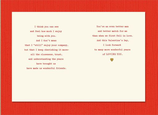 Loving You Over The Years Husband Valentines Day Card