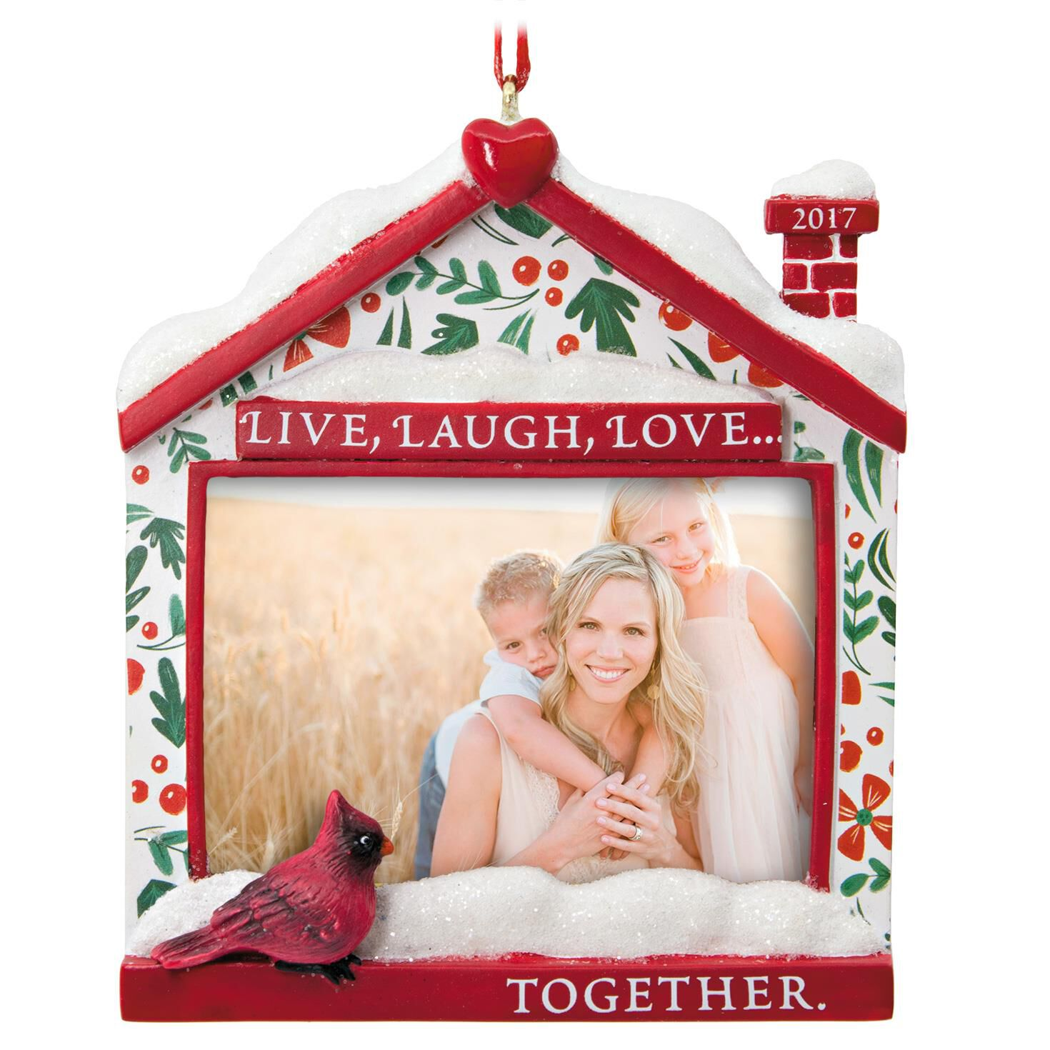 Live, Laugh, Love 2017 Picture Frame Hallmark Ornament - Gift ...