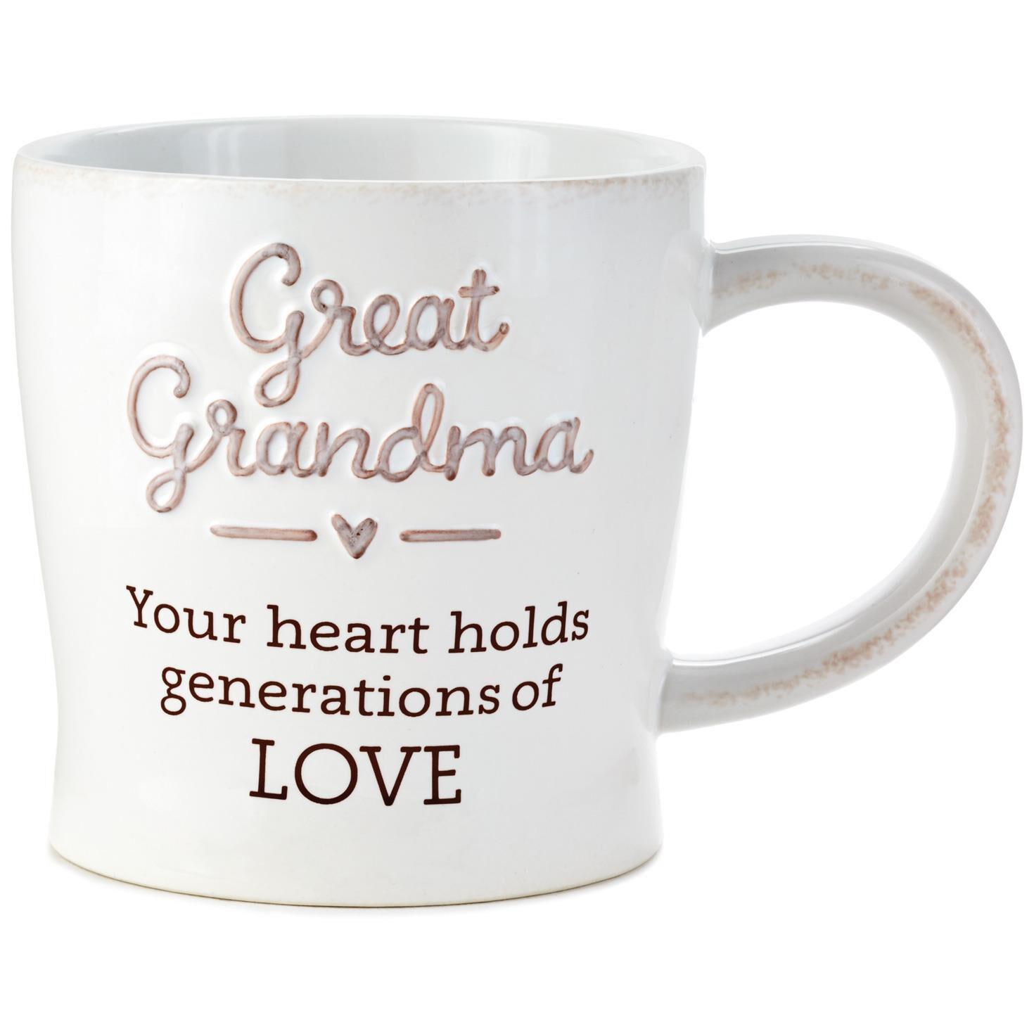 great grandma generations of love mug 12 oz mugs teacups