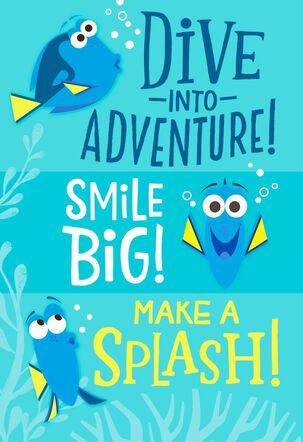 Swimming in Fun Kids Birthday Card