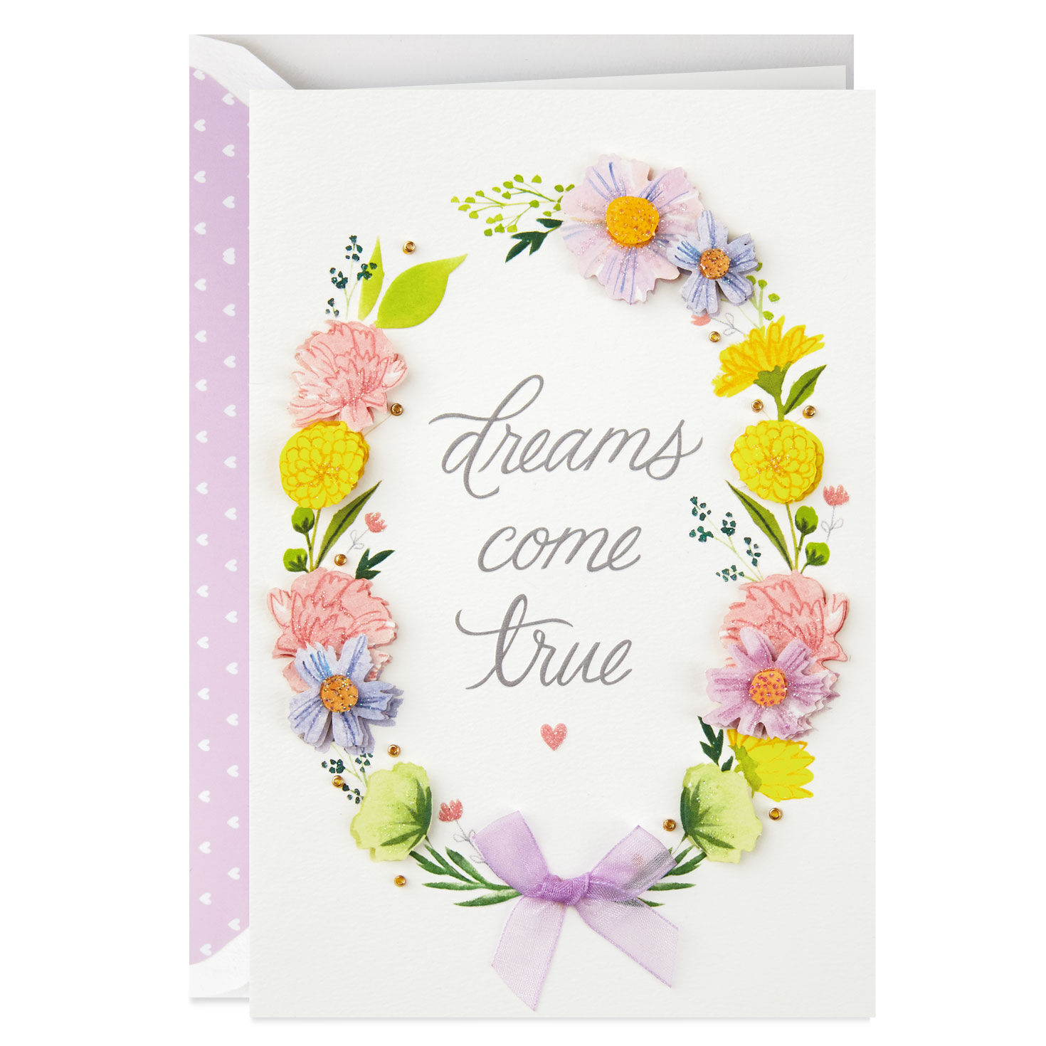 Girl /& Bubbles Believe Greeting Card 4-Pack