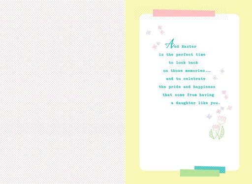 Good Memories Easter Card for Daughter,
