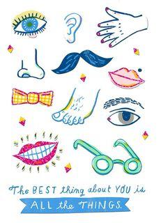 Best Things Blank Card,