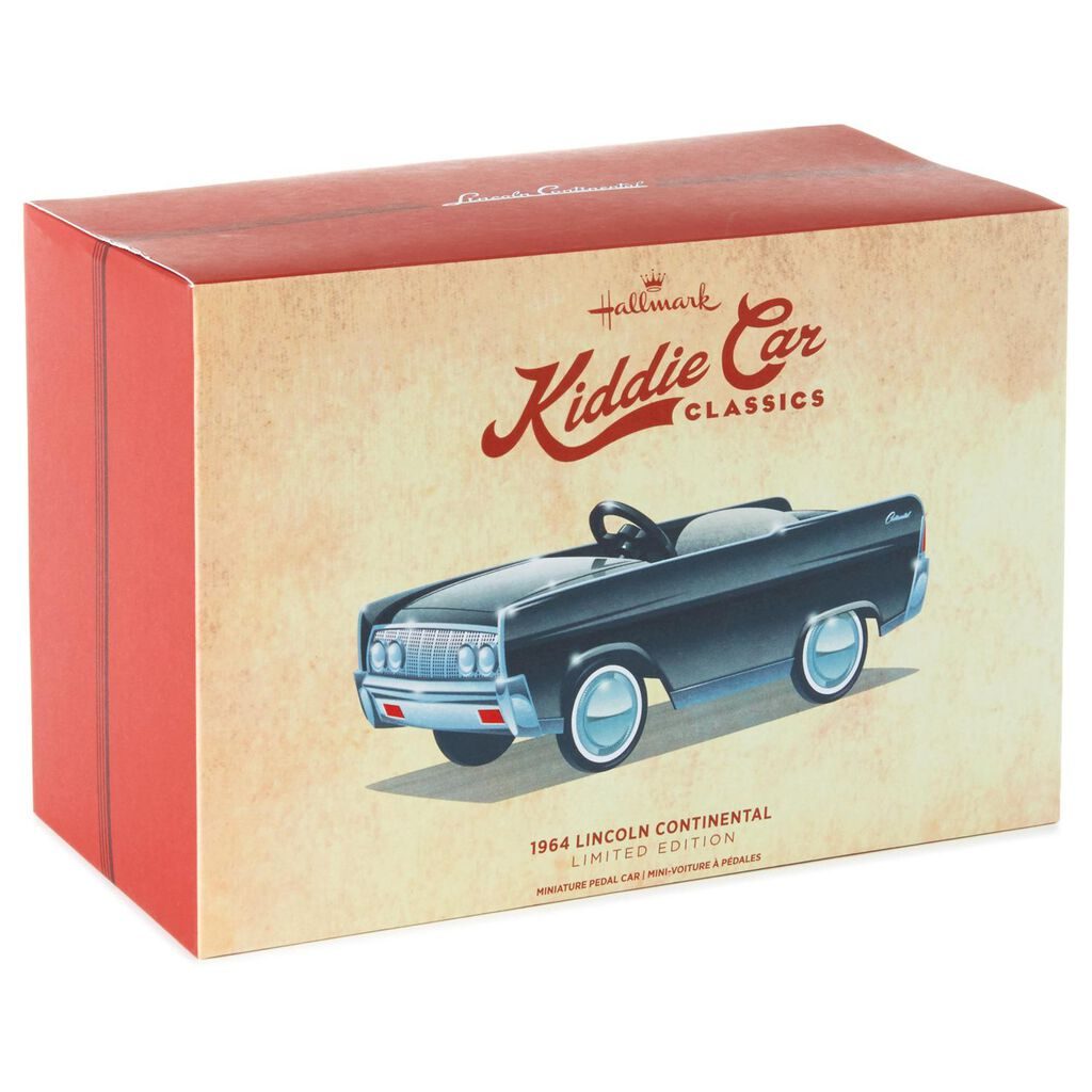 1964 Lincoln Continental Kiddie Car Classics Collectible Toy Car