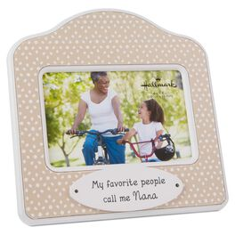 Nana Polka Dot Wood Photo Frame, 4x6, , large