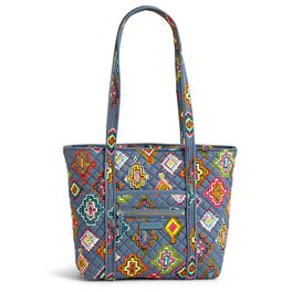 Vera Bradley Iconic Small Tote Bag in Painted Medallions, , large
