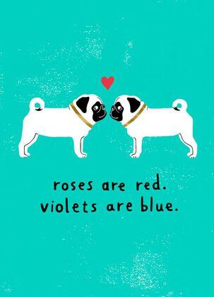 Blah Blah Blah Valentine's Day Card