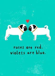 Blah Blah Blah Valentine's Day Card,