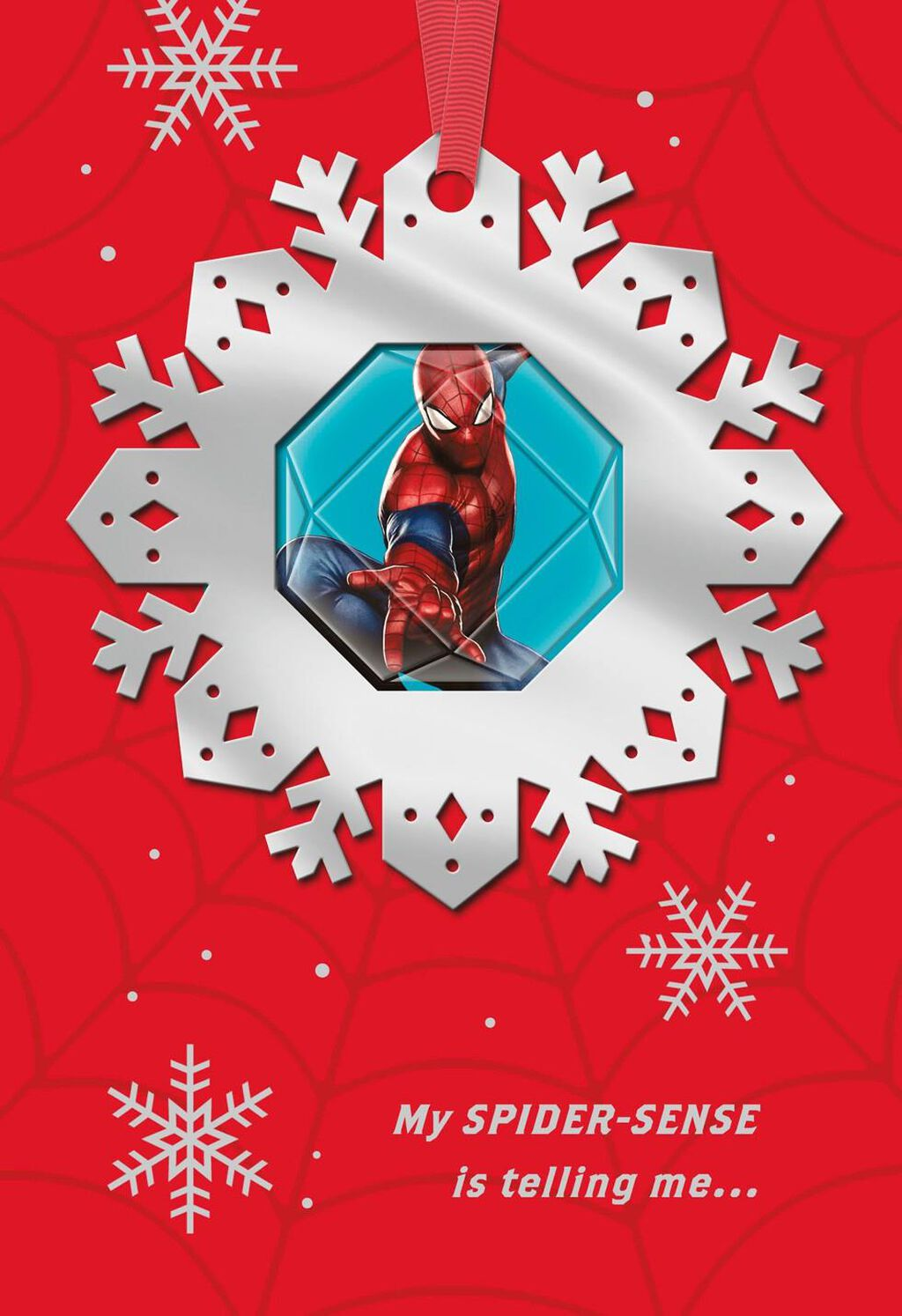 MARVEL\'s Spider-Man Amazing Holiday Christmas Card - Greeting Cards ...