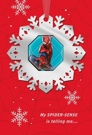 Christmas Greeting Cards Images.Marvel S Spider Man Amazing Holiday Christmas Card