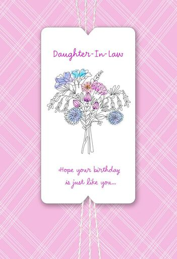 Youre Very Special Birthday Card For Daughter In Law