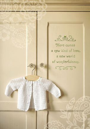 Baby Sweater Pregnancy Card