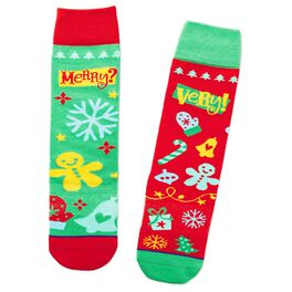 Merry? Very! Toe of a Kind Socks, , large