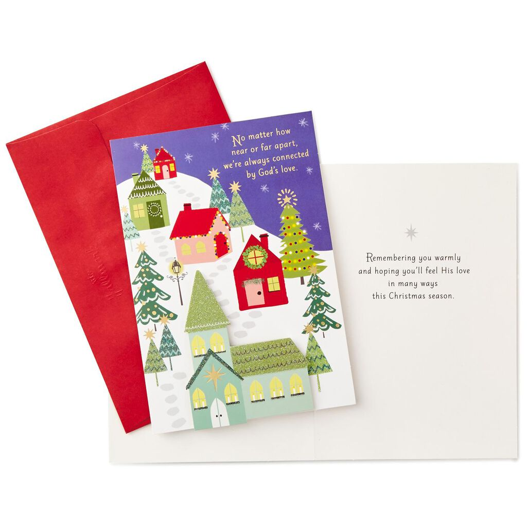 Connected by God's Love Friendship Christmas Cards, Box of 12