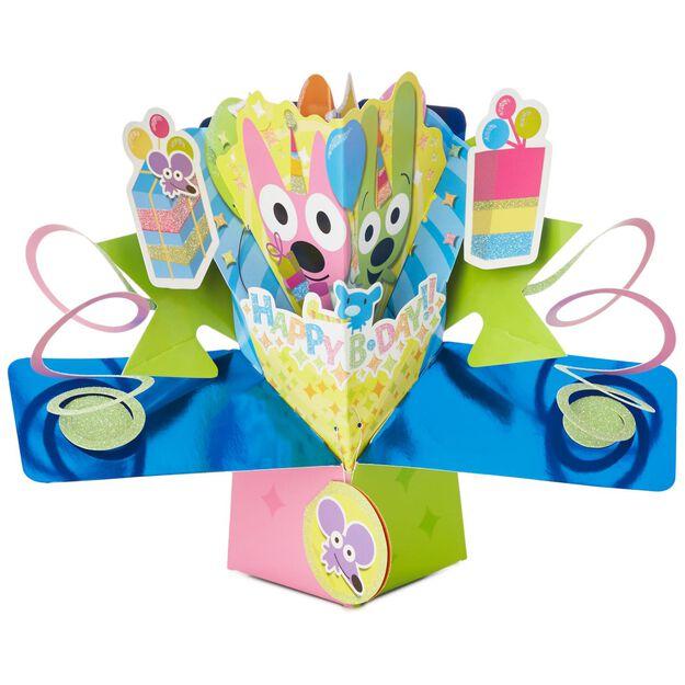 hoopsyoyo PopUp Birthday Card Greeting Cards Hallmark – Yoyo Birthday Cards