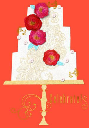 Celebrate You Wedding Card