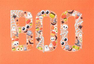 BOO and RIP Halloween Card,