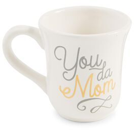Mud Pie® You Da Mom Mug, 16 oz., , large