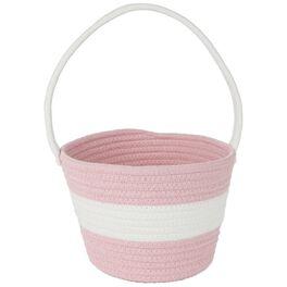 """Pink Easter Basket, 9.5"""", , large"""