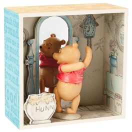 Winnie the Pooh Exercise Time Shadow Box, , large