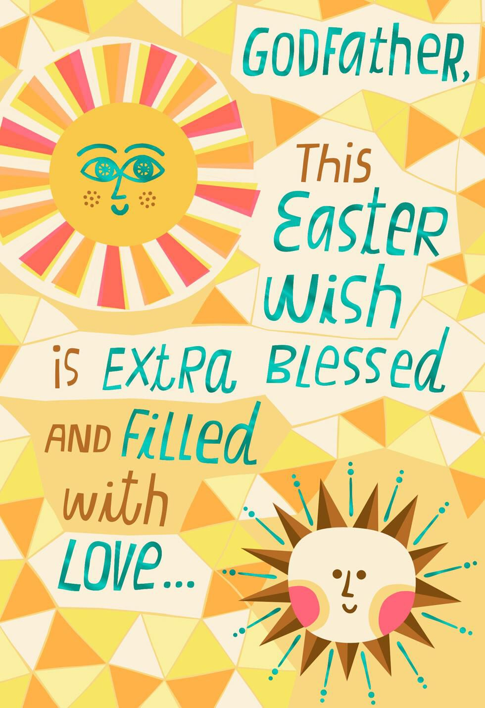 Blessings for Godfather Easter Card Greeting Cards Hallmark – Hallmark Easter Cards