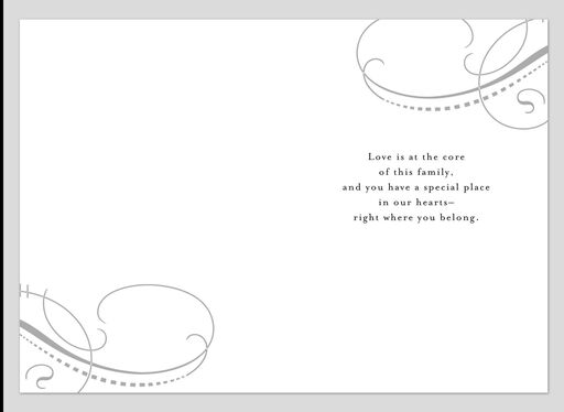 For Son-in-Law on Wedding Day Card,