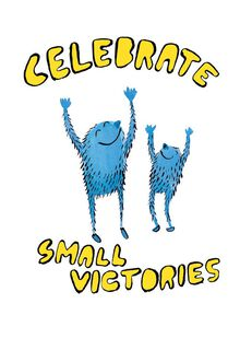 Celebrate Small Victories Congratulations Card,