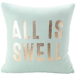"""All Is Swell Knit Pillow, 16"""" Square, , large"""