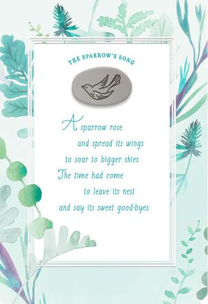 The Sparrow's Song Sympathy Card