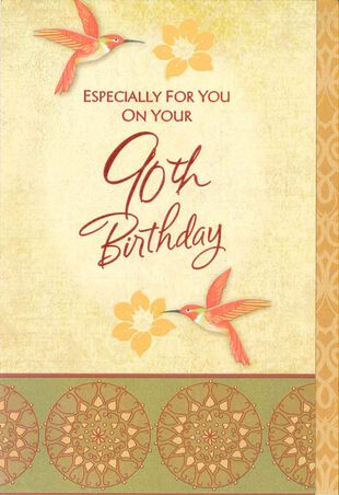 9e8969510e6 50 Best Of Handmade 90th Birthday Card Ideas - 90th Birthday Card ...