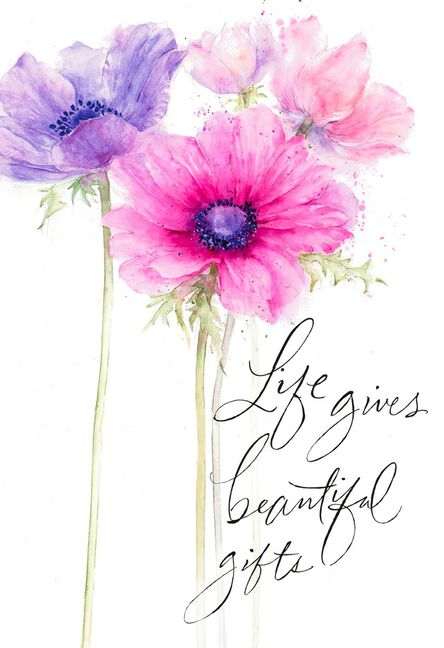 Life Gives Beautiful Gifts Birthday Card For Sister Greeting Cards