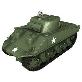 1943 M4A3 Sherman Tank Ornament, , large