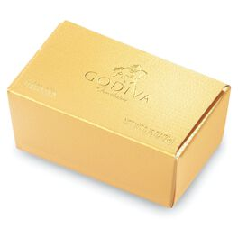 Godiva Chocolatier Assorted Chocolates in Gold Gift Box, 2 Pieces, , large