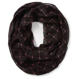 Barbie™ Black With Pink Diamonds Infinity Scarf, , large