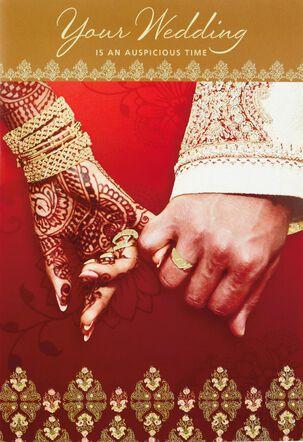 Two Souls Mehendi Wedding Card