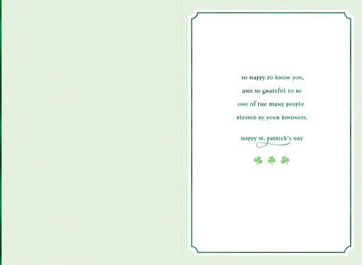 Little Green House St. Patrick's Day Card,