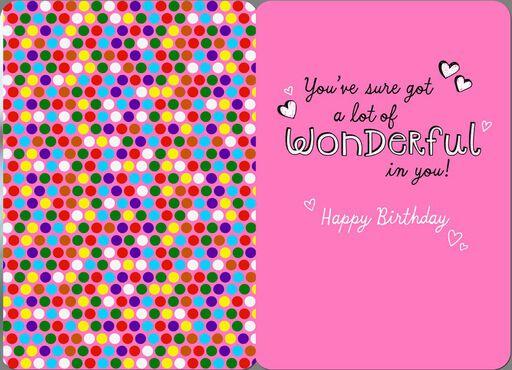 Ice Cream Sundae Birthday Card,