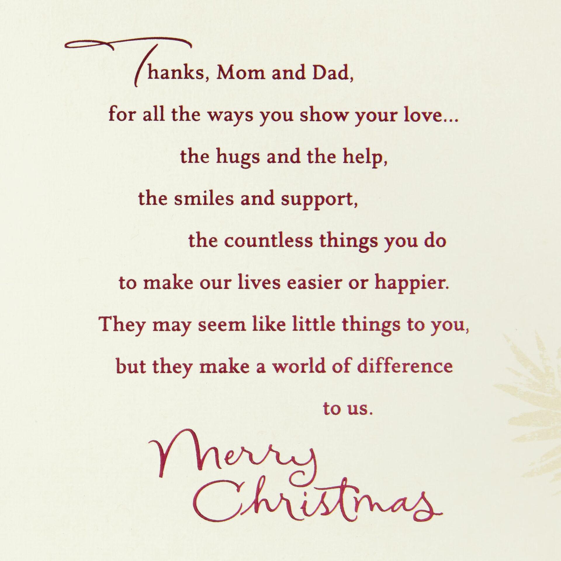 Mum and Dad Christmas Card 03
