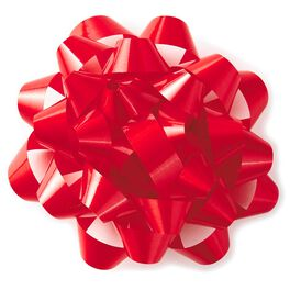 """Red Confetti Bow, 5.25"""", , large"""